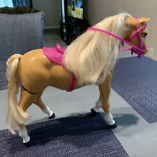 Vintage Barbie 1993 Walking High Stepper Palomino Horse