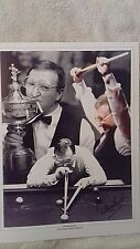 Dennis Taylor-Snooker-1985 Champ-Personally Hand Signed Montage Colour Photo