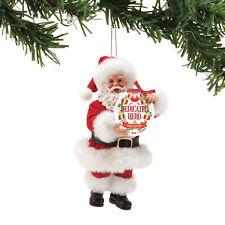 Clothtique Possible Dreams 'Dedicated Hero' Santa Christmas Ornament 6002148