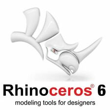 Rhino 6  by McNeel - Commercial single user 3D modeling R60 for PC