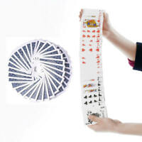 1x Magic Electric Deck of Cards Prank Trick Prop Poker Acrobatics Waterfall Card