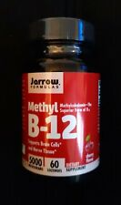 Jarrow Formulas, Inc. Methyl B-12 Methylcobalamin 5,000 mcg 60 Lozenges