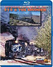 Cumbres & Toltec 315 & The Mudhen BLU-RAY NEW HIghball C-18 K-27 463 Chama Steam
