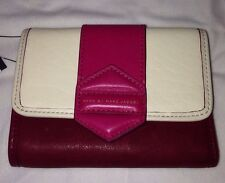 NWT Beautiful Marc By Marc Jacobs Rosie Multi Leather Wallet $208