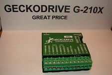 Cnc Geckodrive G 210x 3yr Warranty Step Motor Driver Gecko Router Mill Plasma