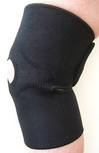 2 x Magnetic Knee Supports Neoprene Pain Arthritis Sport Gym
