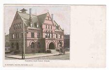 Post Office Rock Island Illinois 1905c postcard