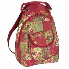Donna Sharp Ziptop Backpack in Watercolor Patch (SALE!)