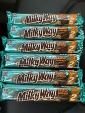 MILKY WAY SALTED CARAMEL BARS Share size 6 bars 3.16oz LIMITED EDITION Halloween