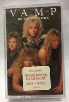 VAMP * The Rich Don't Rock - FREE SHIPPING Music Cassette Tape NEW SEALED Rare
