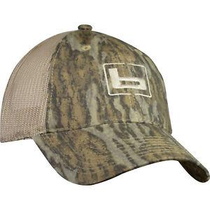 "Banded Gear ""b"" Logo Mossy Oak Bottomland Camo Trucker Twill Mesh Back Hat Cap"