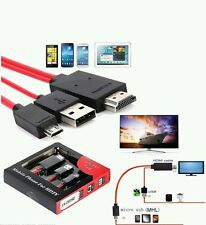 MHL TO HDMI Micro USB TV Adapter Cable Lead For Samsung Galaxy S3,S4,S5 Note 2,3