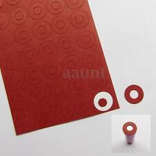200pcs cardboard 1x18650 battery Insulators Electrical Insulating Adhesive Paper