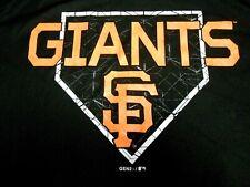 MLB Licensed Youth San Francisco Giants Black Baseball T-Shirt NWT Large 14-16