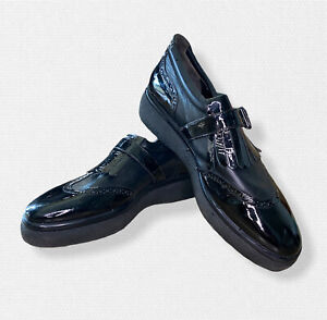 Robert Clergerie Kiltie Black Loafers in Size 9 1/2B (~27.5cm) RRP 800$AUD