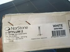 Norstone Stylum 2 Speaker Stands - White ( New ) Boxed