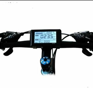 Waterproof Port SW900 LCD Display Meter 24v/36/48V for fElectric Bicycle Scooter