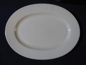 Pfaltzgraf Ivory Platter 12 Inch Oval