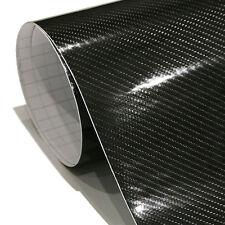 3 X A4 Carbon Auto Motorrad Folie Schwarz Klebefolie 2D 4D 5D 3D Autofolie