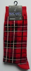 Novelty Red, Green, Purple.....Tartan Scottish ANKLE Socks Men Ladies Sizes