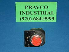 Telemecanique Red Round Push Button with ZB2-BE102 Contact 10A 500V