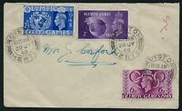 GB 1948 KGVI Olympic Games FDC Royston Herts CDS