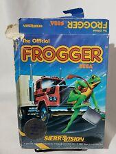 Frogger Sega Atari Cassette & Box