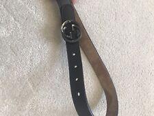 Gucci Baby Boy Age 2-5 Black Leather Belt