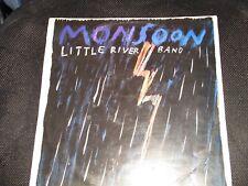 "Vintage Vinyl 1988 Little River Band "" Monsoon""  (421471) V/G LP + Lyric Sleeve"