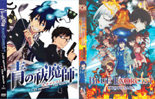 DVD ANIME Blue Exorcist Sea 1-2 Vol.1-37 End + MV (English Version) + FREE DVD