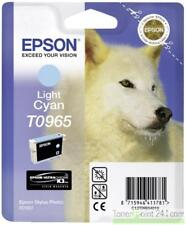 Original Epson T0965 C13T09654010 Cyan for Photo R2880 MHD 06/2017