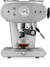 Illy X1 Trio E.S.E. Kaffee Espressomaschine Designer Klassiker Farbe (Edelstahl)