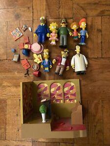 Simpsons World Of Springfield Lot Church Playset Homer Bart Lisa Accessories