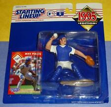 1995 MIKE PIAZZA Los Angeles Dodgers ROY - low s/h - Starting Lineup new HOF
