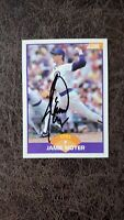1989 Score Jamie Moyer #263 - Chicago Cubs - Autographed!