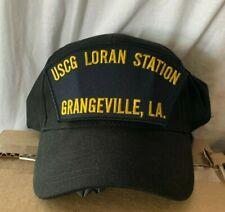 New Uscg Us Coast Guard Hat Cap Loran Station Grangeville Louisiana.