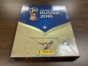 Sealed Panini FIFA World Cup RUSSIA 2018 Gold Edition Sticker Album -Kid Icarus-