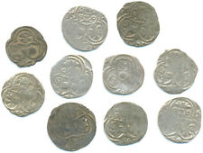RDR-Salzburg, Lot v. 10 Silbermünzen 1520 bis 1603