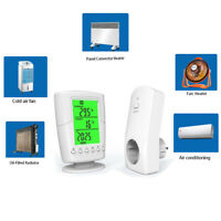 Thermostat Raumthermostat Unterputz Funkempfänger Steckdose für Infrarotheizung