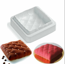 Cake Pan Mold Silicone Molds Baking Cupcake 3D Mousse Mould DIY Bakeware Decor