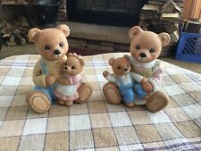 Homco Bear Figurines #1444