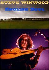 STEVE WINWOOD - ENGLISH SOUL DVD blind faith traffic spencer davis eric clapton