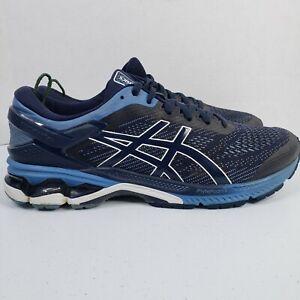 Asics Gel-Kayano 26 Sneaker Men 11.5 Midnight Blue Athletic Running Shoes 1011A5