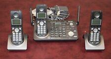 panasonic telephone system KX-TG6700 grey wireless 3 phones