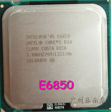 1PC Intel Core 2 Duo E6850 CPU 3.0GHz 4MB/1333Mhz LGA775 SLA9U