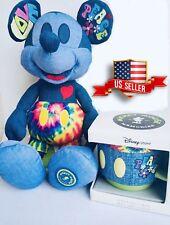 Disney Store Mickey Mouse Memories Plush With Mug June LE USA Seller