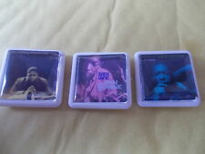 3 JOHN COLTRANE ALBUM BADGES / PINS FREE POST IN THE UK  PICTURE IN LISTING