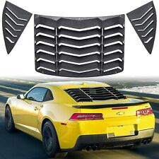 RearSide Window Louver Windshield Sun Shade Cover for Chevrolet Camaro 2010~2015