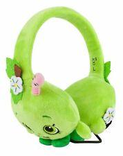 Shopkins Apple Blossom Plush Green Headphones Cushioned Headband Padded Ear Cups