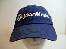 TaylorMade Adjustable Navy Blue Baseball Hat Cap Strapback OSFA